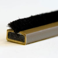 10 x 4mm Fire & smoke intumescent strip 2.1m Brown