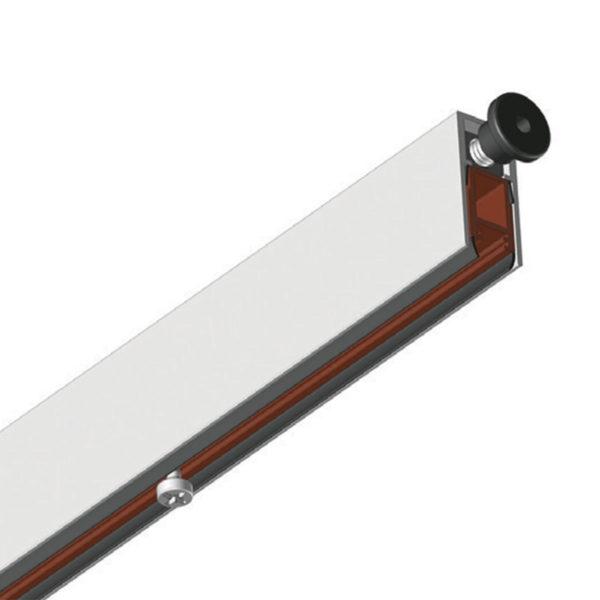 TOP 37 - Rebated Acoustic Drop Down Seal 430mm