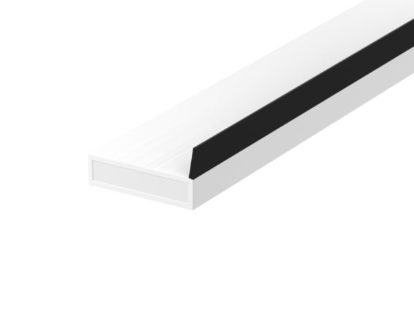 Lorient AS (SIDE FIN) Acoustic Fire/Smoke seal 10x4mm WHITE