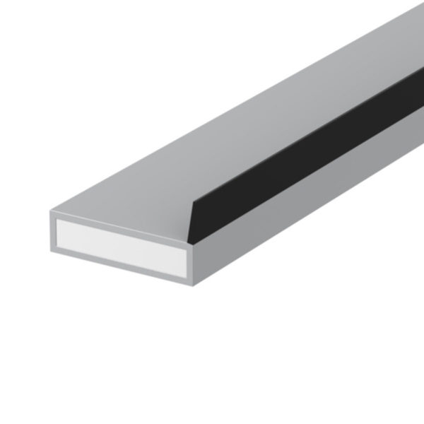 Lorient AS (SIDE FIN) Acoustic Fire/Smoke seal 20x4mm GREY