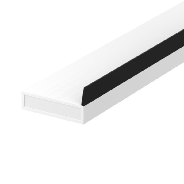 Lorient AS (SIDE FIN) Acoustic Fire/Smoke seal 20x4mm WHITE